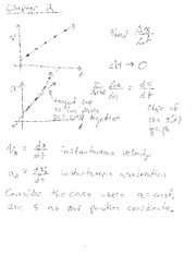 Physics Cht 2 Notes 9-2