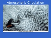 Chapter 7 Atmospheric Circulation