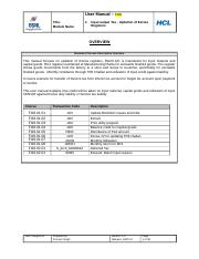 49_Input output Tax - Updation of Excise Registers_38.doc