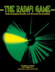 The Radar Game