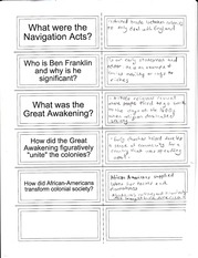 Navigation Acts Notes
