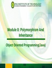 8-Polymorphism and Inheritance.ppt