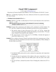 Assignment 4 with solutions
