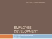 2.4- Employee Development
