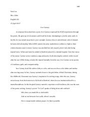Ivor Gurney Research Paper- English 102.docx