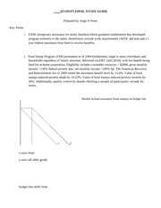 ECON375 FINAL STUDY GUIDE