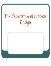 Topic_8_-_The_Experience_of_Process_Design