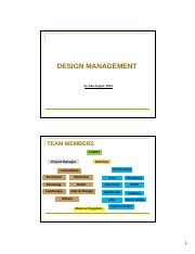 L4 Design Management