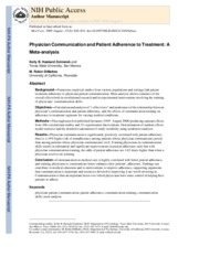 PPC and adherence to treatment