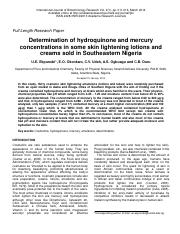 Determination of hydroquinone and mercury.pdf
