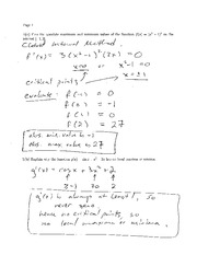 Exam 3 Solution Spring 2008 on Calculus and Analytic Geometry I