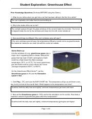 Greenhouse Effect _ Quiz Answers - Greenhouse Effect Gizmo ...