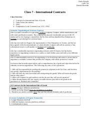 Class 7 - International Contracts.docx