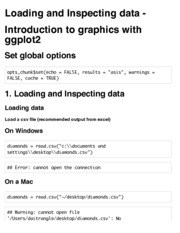 Lecture 1.3 Loading Data and Graphics