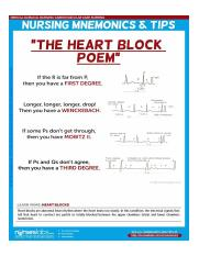 Heart Block Poemjpg The Heart Block Poem By The Princeton