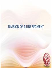 Day 4 - division of a line segment