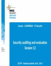 20170917102033_PPT12-Security auditing and evaluation-S12-R0.ppt