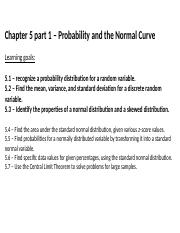 Ch 5- Probability and the Normal Curve (Part 1).pptx