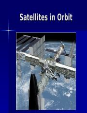 PHY-21-Satellites in Orbit.ppt