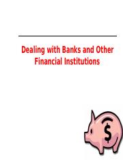 11 -Banks & Financial Institutions.ppt