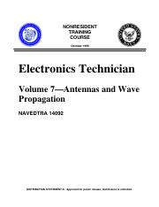 (Ebook-Pdf) - Electronics - Antennas And Wave Propagation