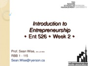 Week 2 slides Wise