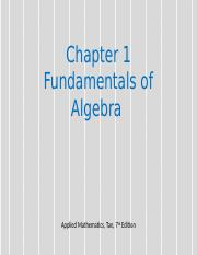 Chapter 1 Fundamentals of algebra.pptx