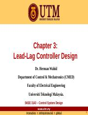 Chapter 3 Lead-Lag Controller Design - full page
