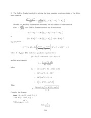 Differential Equations Lecture Work Solutions 308