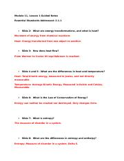module 1 lesson 2 guided notes Module 2 lesson 1 guided notes document name:zaria jordan please  complete the information below as you go through the module 2 lesson 1 notes.