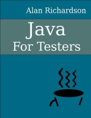 javaForTesters-sample pdf - Java For Testers Learn Java fundamentals