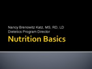 GeneralNutrition_WomensHealthClass_2011