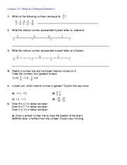 subtracting rational numbers worksheet lesson 1 4 algebra 2 home work negative number. Black Bedroom Furniture Sets. Home Design Ideas