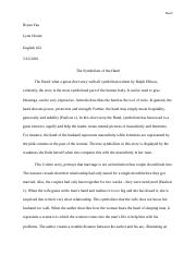 short story paper (the hand)