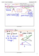 ASA and AAS congruence notes