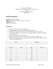 SE-240-Final_exam and solutions 2004 spring