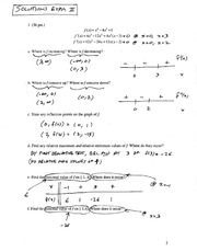 Solutions to Exam II, Ma123,F04