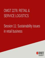 Week 11 - Sustainability issues in retail business.pptx