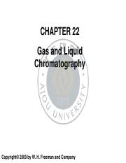 12.Gas and Liquid chromatography
