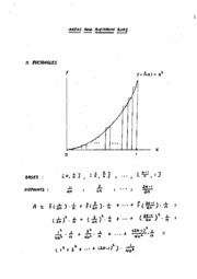 Areas and Riemann Sums