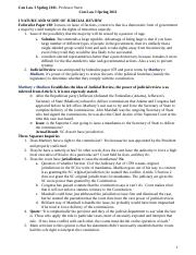 Con Law I Spring 2011- Professor Stern- Brenden Soucy's Outline.docx