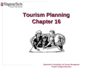 Chapter+16+Tourism+Planning