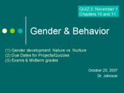 17_Gender & Behavior