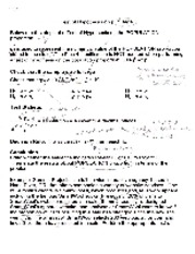 TestofHypothesisNotes