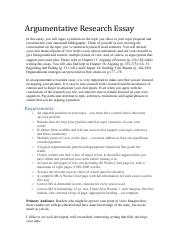 Descriptive Essay Topics For High School Students Argumentative Research Essay Assignment Sheetpdf  Argumentative  Research Essay In This Essay You Will Argue A Position On The Topic You  Chose In Great Gatsby Essay Thesis also How To Make A Good Thesis Statement For An Essay Argumentative Research Essay Assignment Sheetpdf  Argumentative  Topics For Synthesis Essay