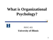 S15 Lecture 1_Introduction to Organizational Psychology