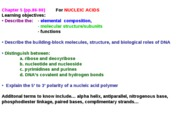 lecture 9-18-09 nucleic acids