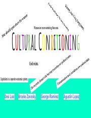 Cultural Conditioning.pdf - Cultural Conditioning Desi Leal Brooke ...