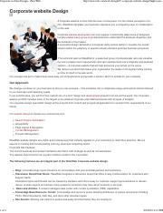 Corporate website Design - ...pdf