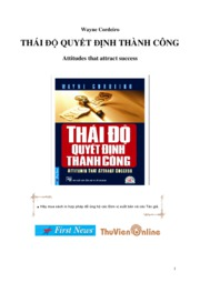 thai do quyet dinh thanh cong